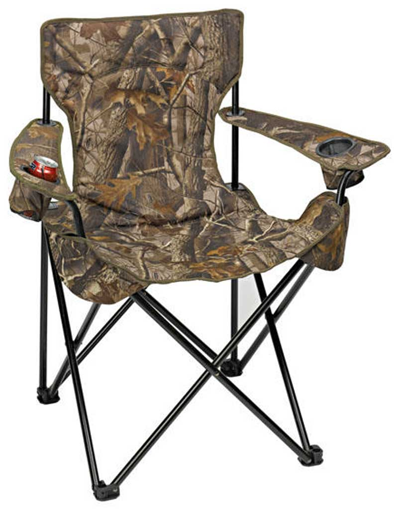 The Camo Folding Camp Chair Promotional Custom Imprinted With Logo