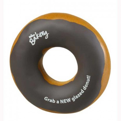 Donut Stress Ball Promotional Custom Imprinted With Logo