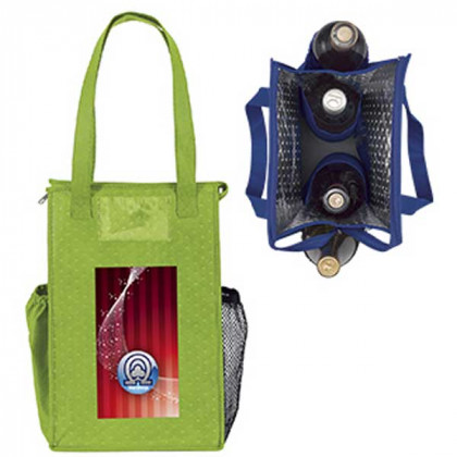 Super Lunch Bag With 4 Color Logo Promotional Custom Imprinted With Logo