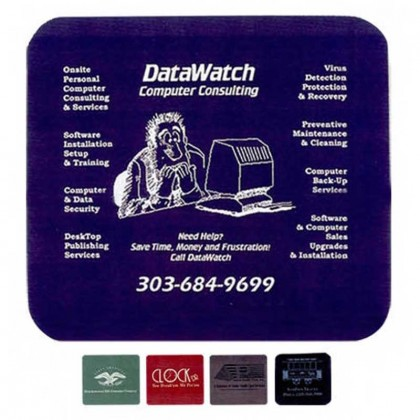 Computer Mouse Pad Promotional Custom Imprinted With Logo