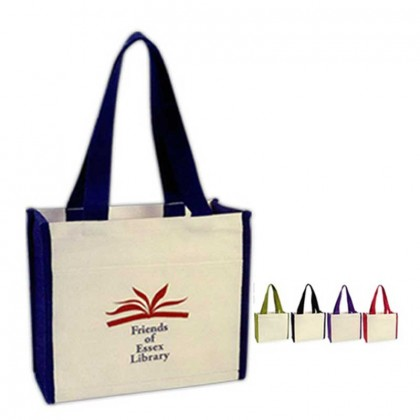 Cotton Canvas Tote Bag Custom Logo