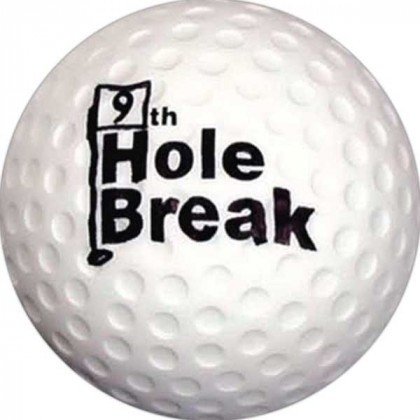 Golf Ball Stress Toy Promotional Custom Imprinted With Logo
