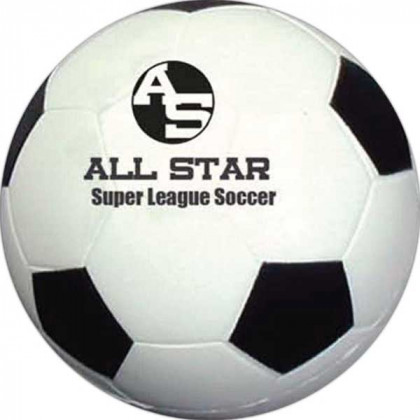 Soccer Ball Stress Toy Promotional Custom Imprinted With Logo