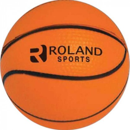 Basketball Stress Toy Promotional Custom Imprinted With Logo