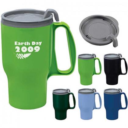 Evolve Traveler Mug - 16 oz. Promotional Custom Imprinted With Logo