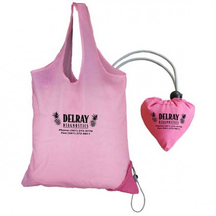 Morph Sac Heart Tote Bag Promotional Custom Imprinted With Logo