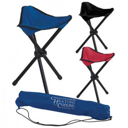 Custom Imprint Folding Stadium Chair - outdoors chairs with business logo