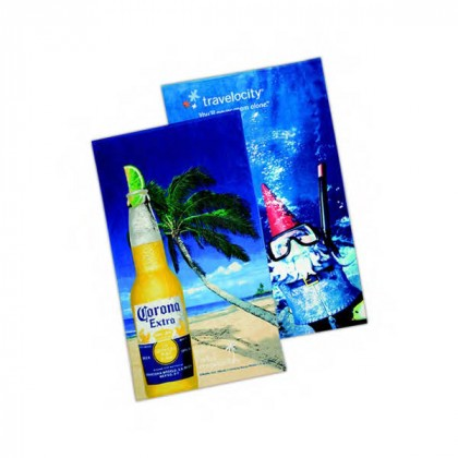 Custom Fiber Reactive Beach Towel Promotional Custom Imprinted With Logo