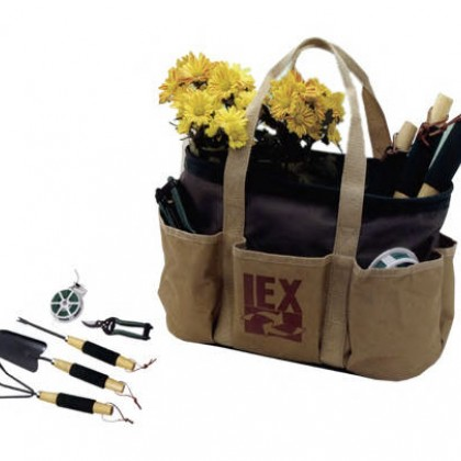 Garden Tool Bag Kit Promotional Custom Imprinted With Logo