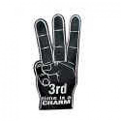 Spirit 22-1/2 in. 3-Finger Hand Promotional Custom Imprinted With Logo