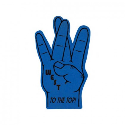 Spirit 24 in. W -West Hand Promotional Custom Imprinted With Logo