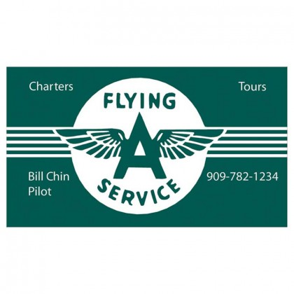 Economy Business Card Magnet Promotional Custom Imprinted With Logo
