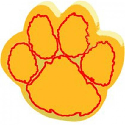 Spirit 12-1/2 in. Paw Print Mitt Promotional Custom Imprinted With Logo