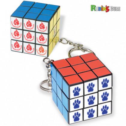 Best Custom Imprinted Novelty Keychains - Bulk Mini Rubik's Cube Key Tags