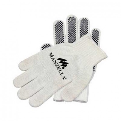 Poly-acrylic blend glove - dotted palms Promotional Custom Imprinted With Logo