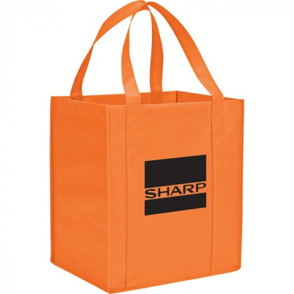 The Hercules Large Grocery Tote - Orange