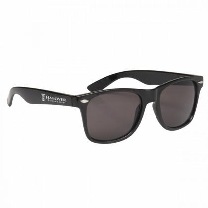 Custom Company Logo Sunglasses for Promotional Advertising - Black
