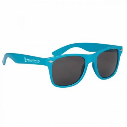 Custom Company Logo Sunglasses for Promotional Advertising - Light Blue