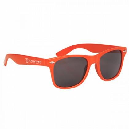 Custom Company Logo Sunglasses for Promotional Advertising - Orange