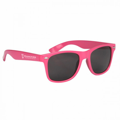 Custom Company Logo Sunglasses for Promotional Advertising - Pink