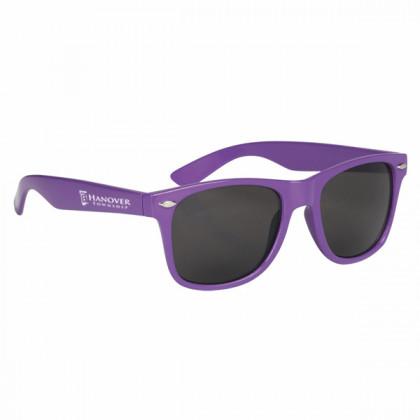 Custom Company Logo Sunglasses for Promotional Advertising - Purple