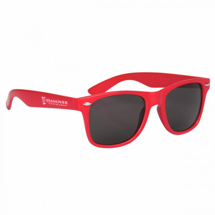 Custom Company Logo Sunglasses for Promotional Advertising - Red