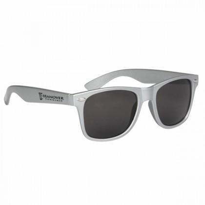 Custom Company Logo Sunglasses for Promotional Advertising - Silver