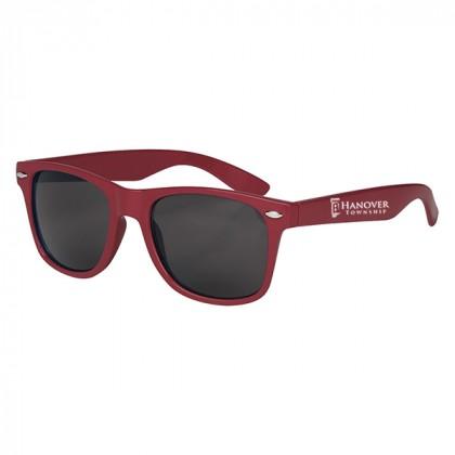 Custom Company Logo Sunglasses for Promotional Advertising - Maroon
