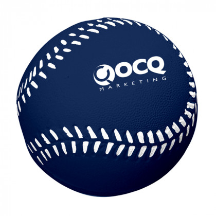 Baseball Stress Toy Advertising Products | Stress Baseballs - Navy
