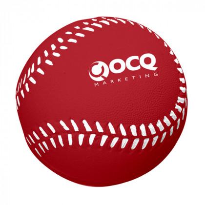 Baseball Stress Toy Advertising Products | Stress Baseballs - Red