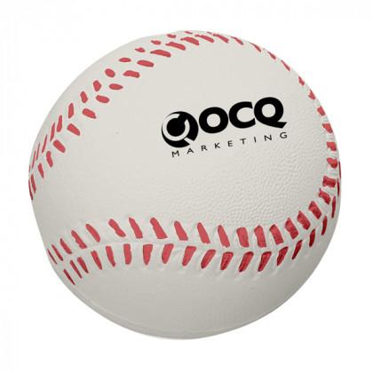 Baseball Stress Toy Advertising Products | Stress Baseballs - White
