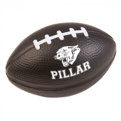 Football Stress Ball - Black