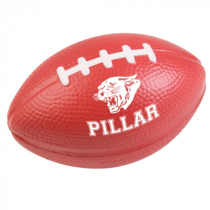 Football Stress Ball - Burgundy