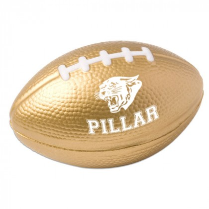 Football Stress Ball - Gold