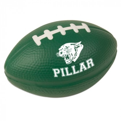 Football Stress Ball - Hunter green