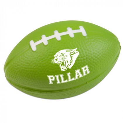 Football Stress Ball - Lime green