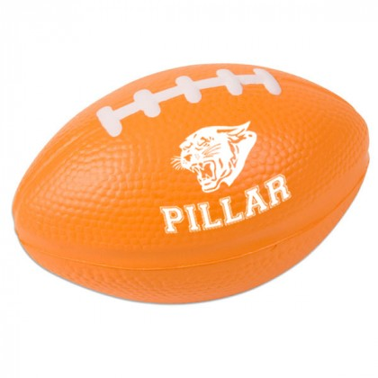 Football Stress Ball - Orange