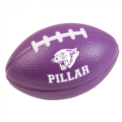 Football Stress Ball - Purple