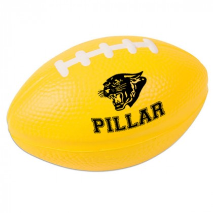 Football Stress Ball - Yellow