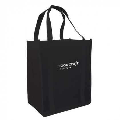 Recycled Shopping Tote - Black