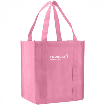 Recycled Shopping Tote - Pink