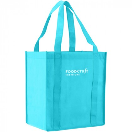 Recycled Shopping Tote - Teal