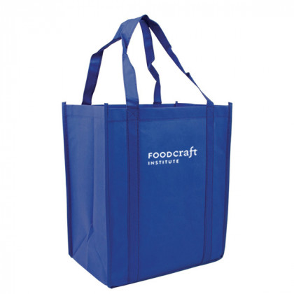 Recycled Shopping Tote - Reflex Blue
