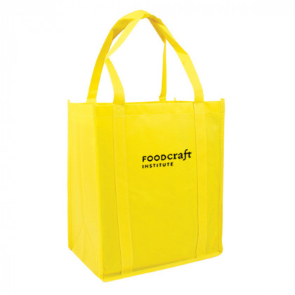 Recycled Shopping Tote - Yellow