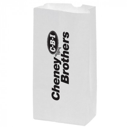 Promo White Grocery Bag 5 x 9.5 Inches