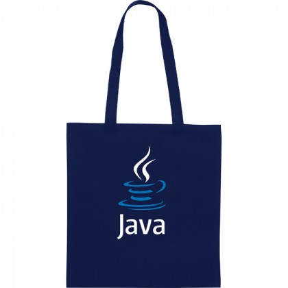 Promotional Zeus Tote Bag - Navy Blue