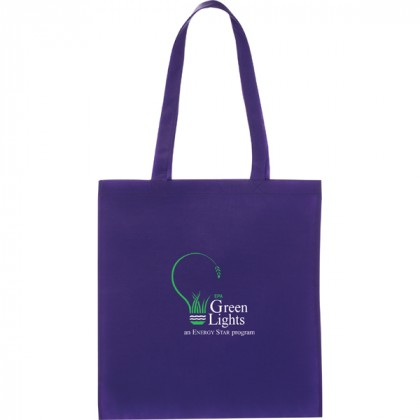 Promotional Zeus Tote Bag - Purple