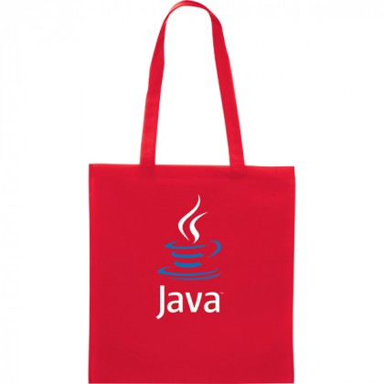 Promotional Zeus Tote Bag - Red