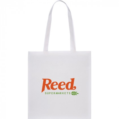 Promotional Zeus Tote Bag - White