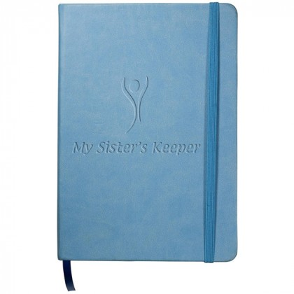 Tuscany Writing Journal - Light blue